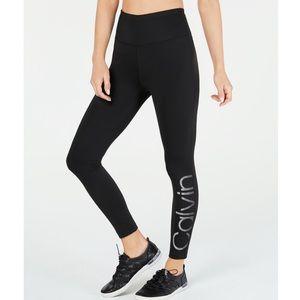 Calvin Klein NWT Black Ankle Tights Leggings Pants